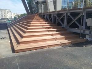 Escalier bois - Paris Montparnasse