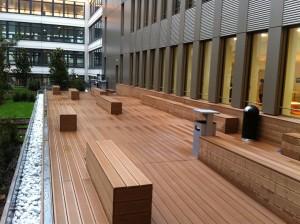 Terrasse Composite - Issy les Moulineaux