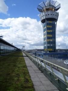 Toiture végétalisée - Aéroport d' Orly